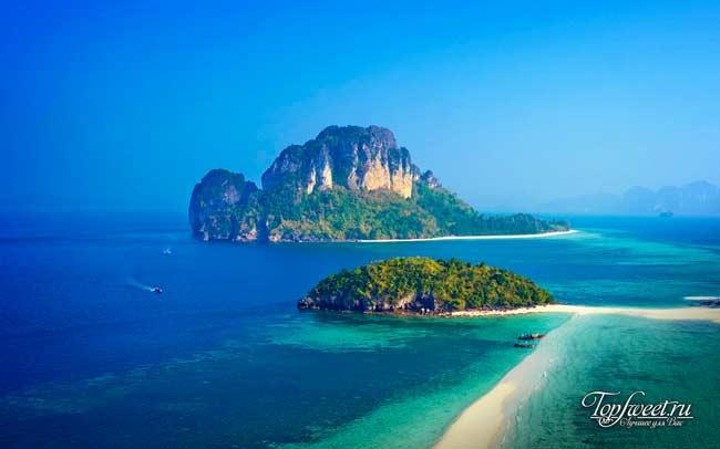 Вид на остров Пода с соседнего острова