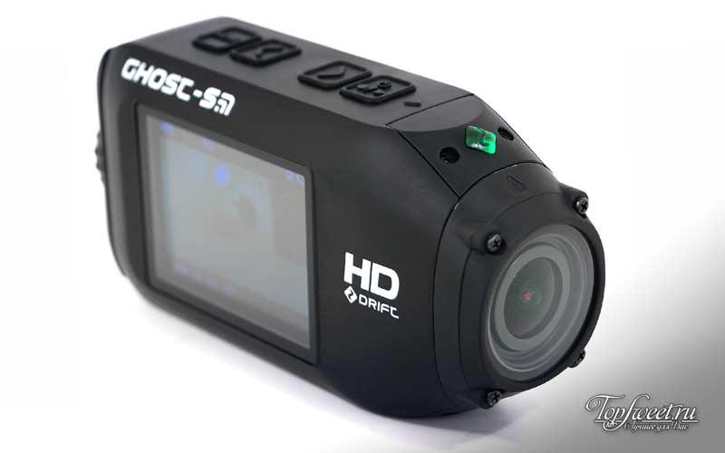 Drift Ghost-S. ТОП-10 лучших экшн камер
