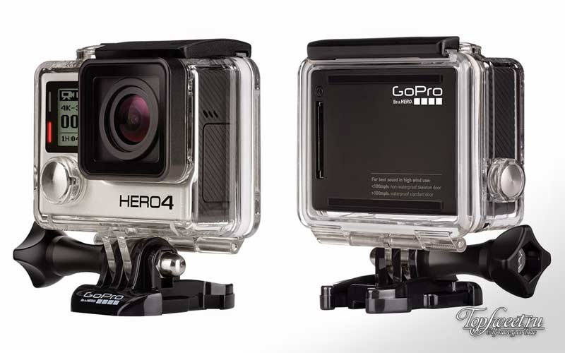 GoPro Hero4 Black. ТОП-10 лучших action камер