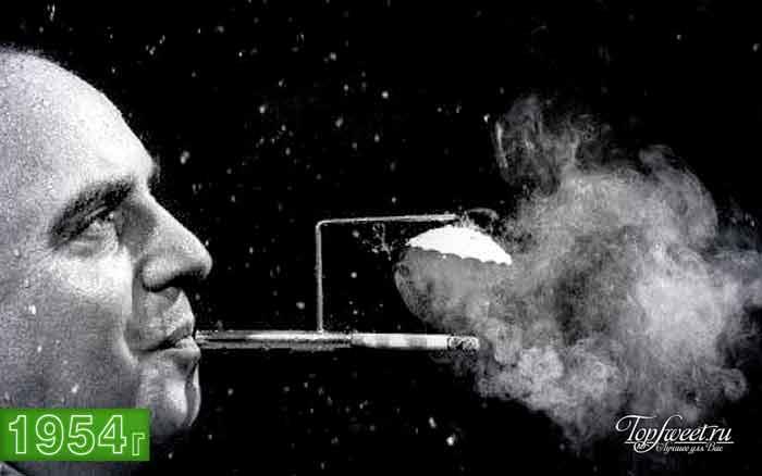Мундштук для любителей покурить под дождем