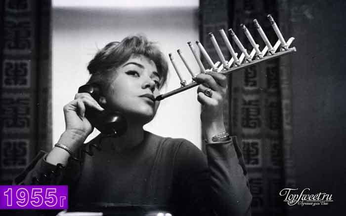 Мундштук для пачки сигарет, 1955 год