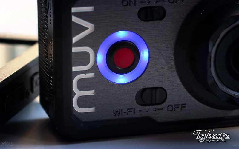 Muvi K-Series K2 NPNG. ТОП-10 лучших экшн камер