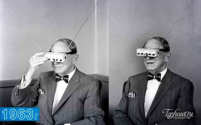 Очки-телевизор, 1963 год