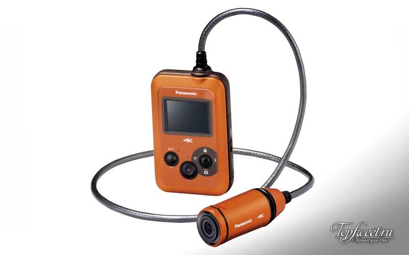 Panasonic HX-500E. ТОП-10 лучших экшн камер
