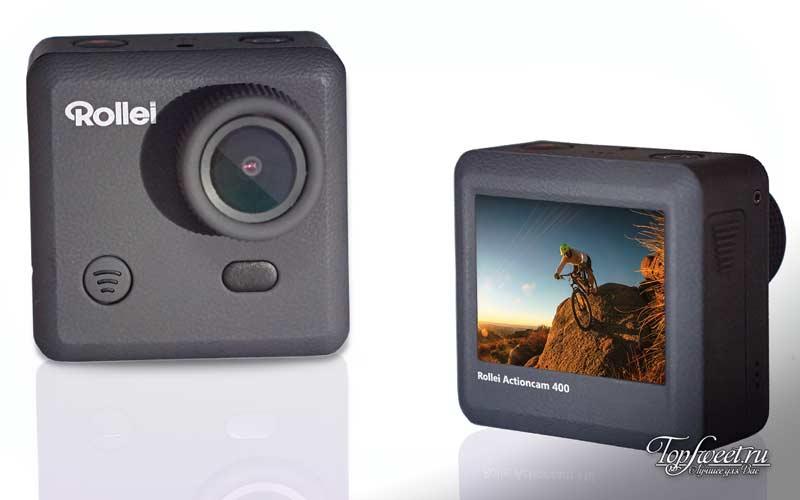 Rollei Actioncam 400. ТОП-10 лучших экшн камер