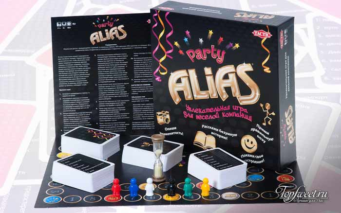 Настольная игра Alias. Самая интересная игра