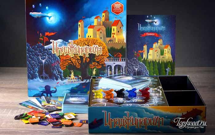 imaginarium. Самая интересная игра настольная игра