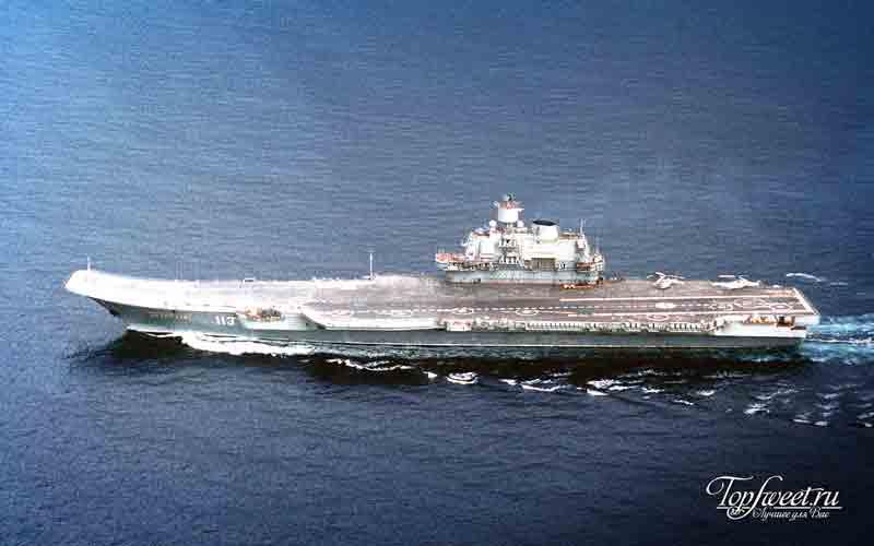 Адмирал Кузнецов. Самые крупные боевые корабли