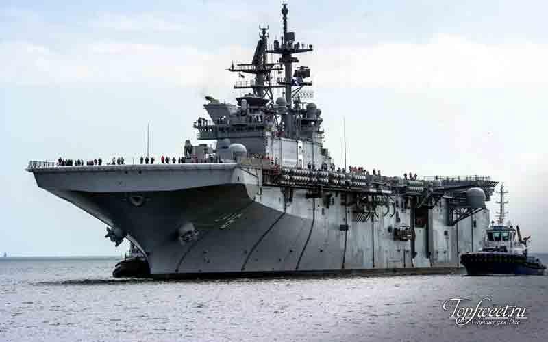 Америка. Лучшие военные корабли