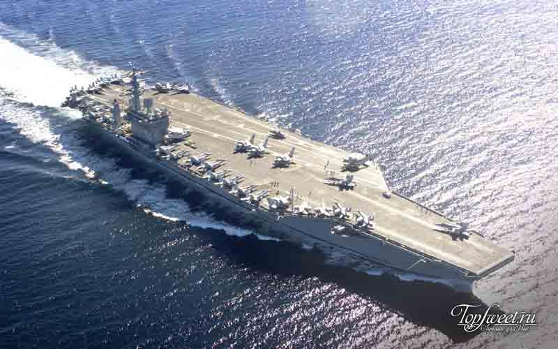 """Авианосец """"Нимиц"""". 10 самых больших кораблей"""