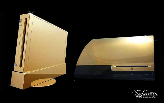 Gold Nintendo Wii Supreme