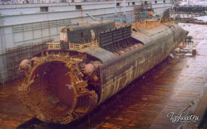 Курск – подводная лодка в мутной воде