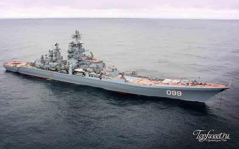 Петр Великий. Список самых больших кораблей мира