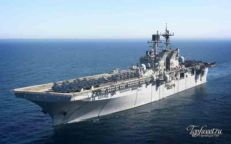 УОСП. ТОП-10 крупнейших кораблей