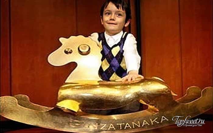 Золотая лошадка-качалка. Самые дорогие игрушки