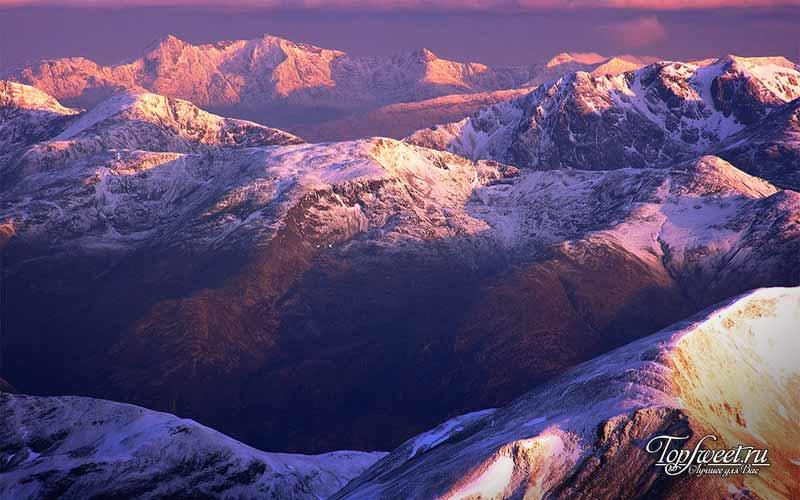 Бен-Невис. Шотландские пейзажи