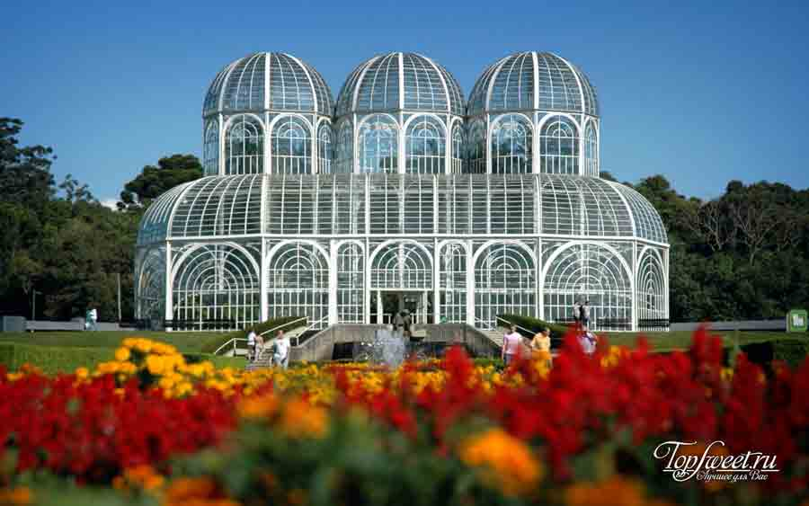 Ботанический сад Куритибы. Танец стекла и металла