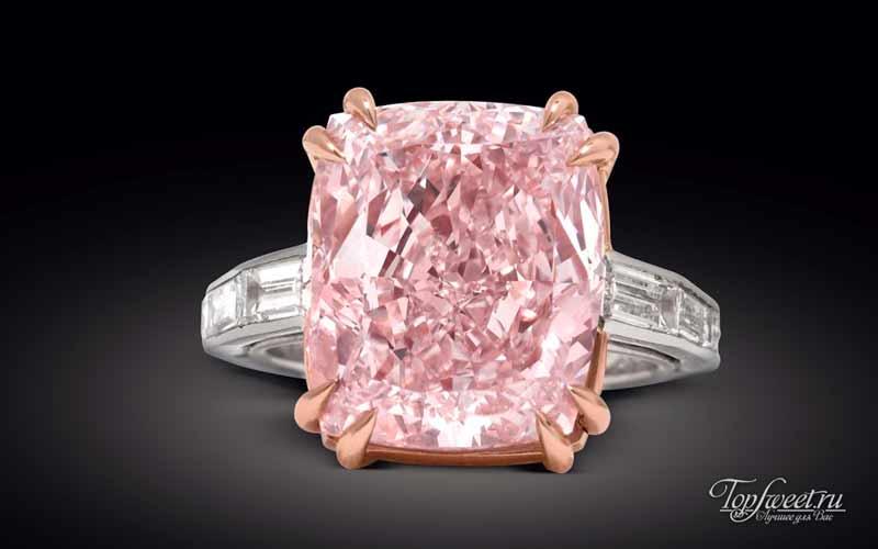 Бриллиант «Розовый Графф». Лучшие бриллианты мира