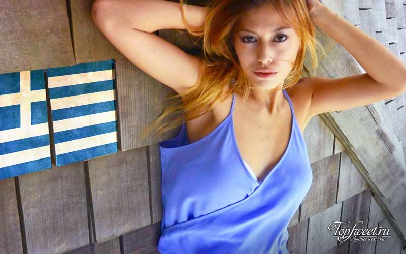 Греция. Красивая грудь