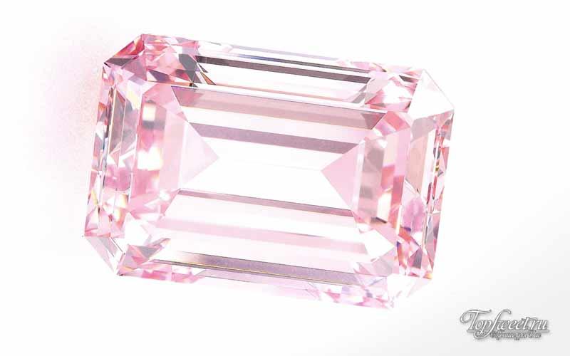 Идеальный розовый» бриллиант. ТОП012 самых дорогих бриллиантов в мире