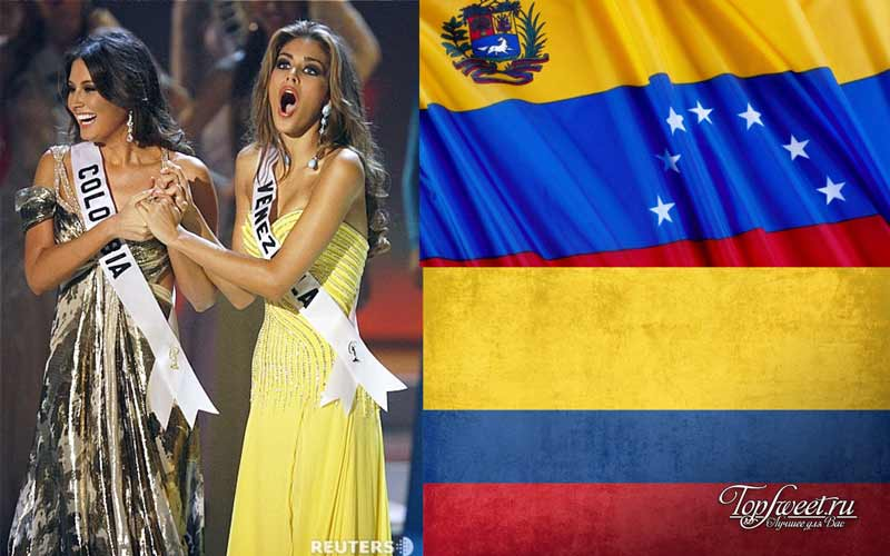 Колумбия и венесуэла
