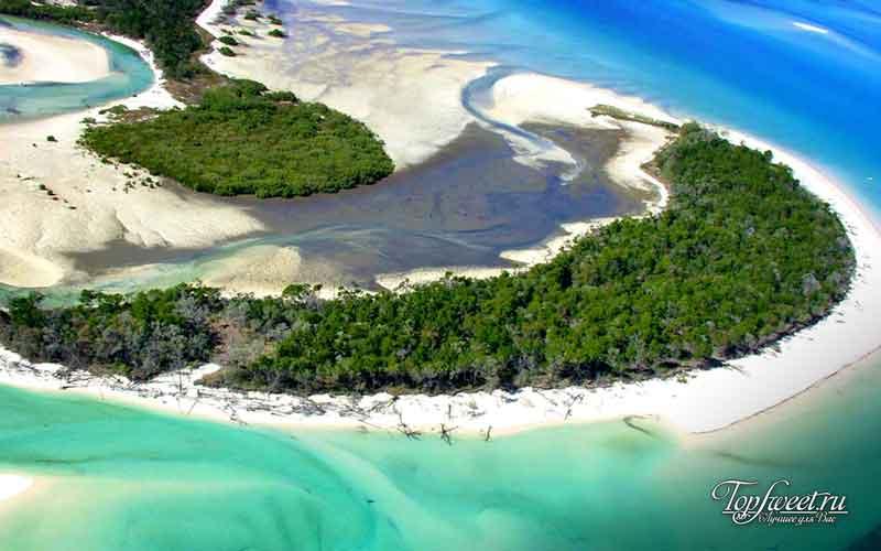 Остров Фрейзер. Опасный пляж