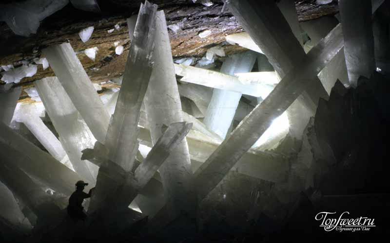 Пещера кристаллов. Самые уникальные пещеры