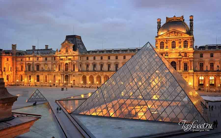 Пирамида Лувра, Самые красивые здания из стекла