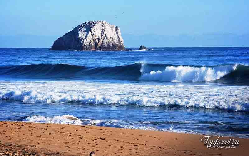 Черный пляж Килауэа