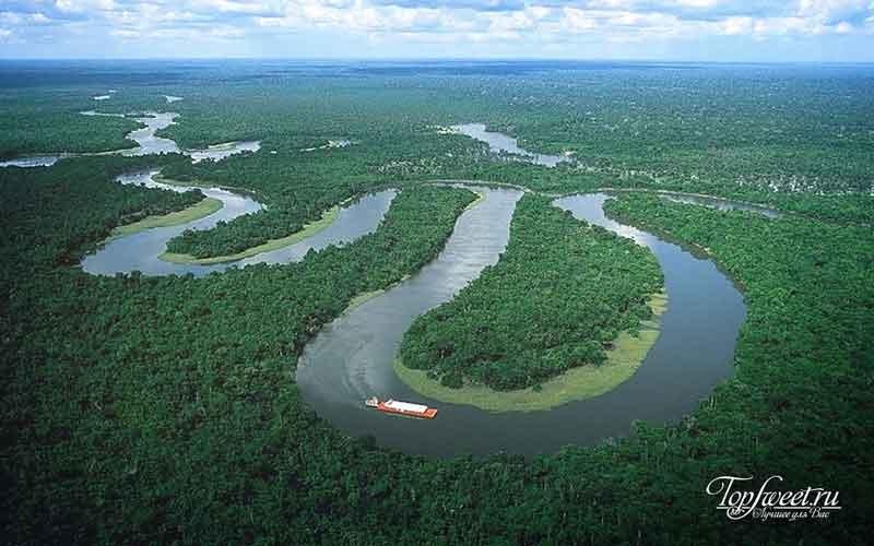 Пляжи Амазонки. Страшные пляжи мира