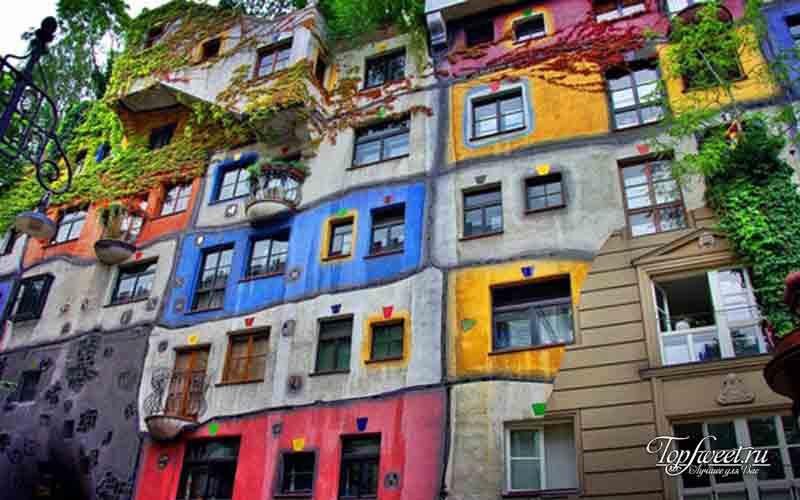Посетите дом Хундертвассера. Что сделать в Вене