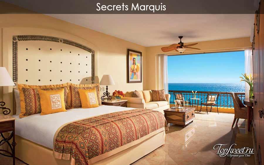 номер в отеле Secrets Marquis