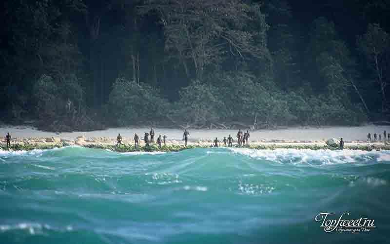 Северный Сентинельский остров. Самые опасные пляжи