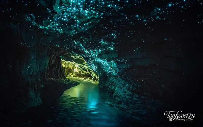 Светящаяся пещера