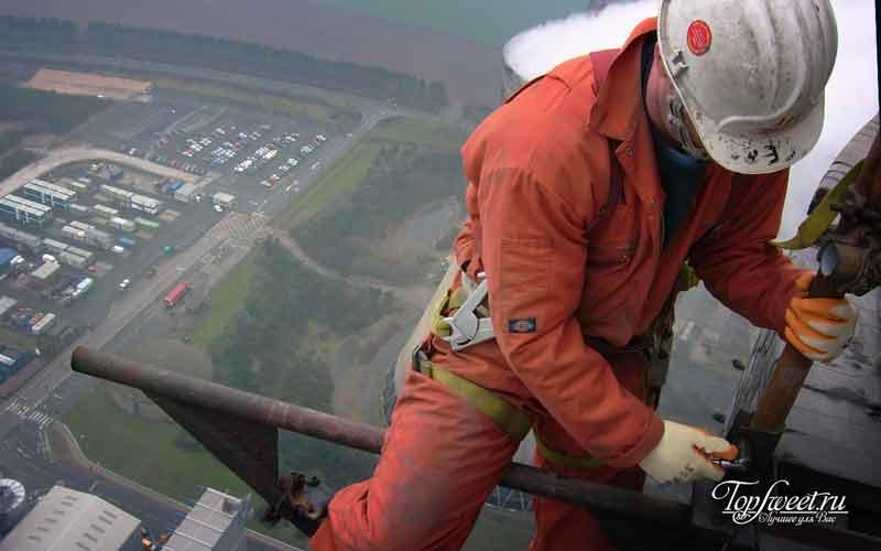 Высотники. 6 самых опасных профессий
