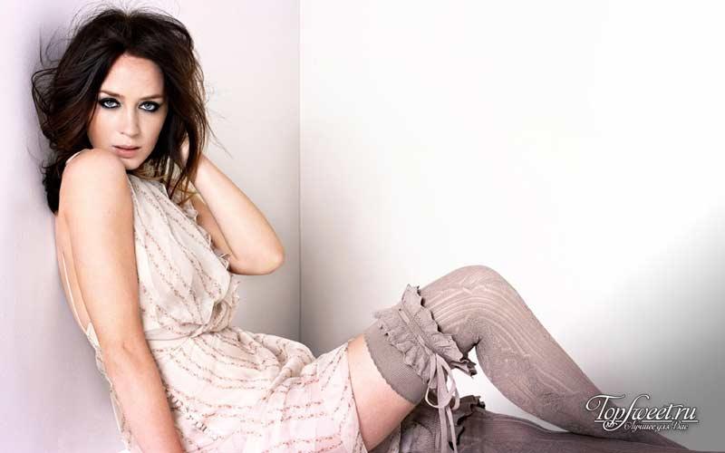 Эмили Блант. 10 Самых сексуальных британских звезд