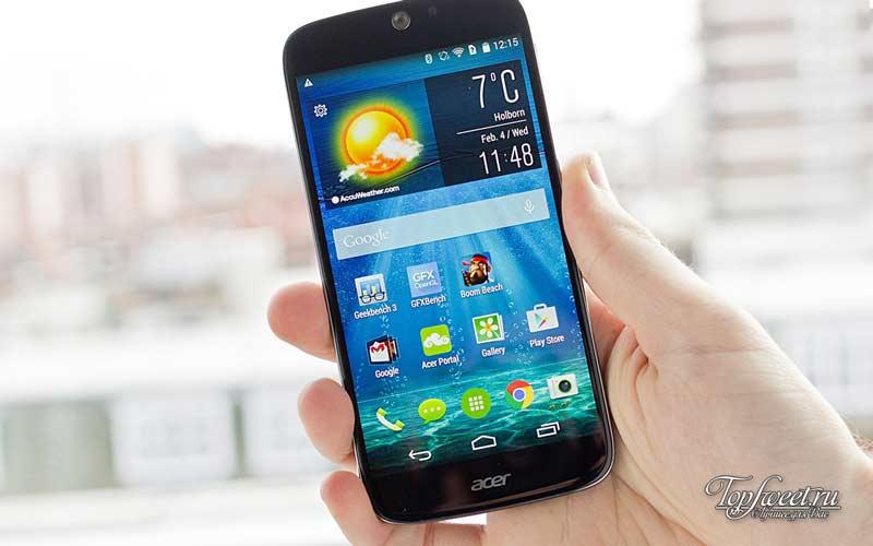 Acer Liquid Jade S. ТОП-10 лучших бюджетных телефонов 2016