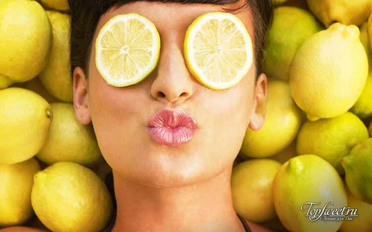 Антивозрастное средство. Как используют лимон