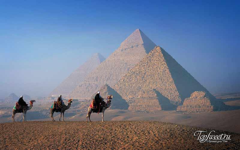 Египетские пирамиды. Культовые места для фотосъемки. ТОП-10