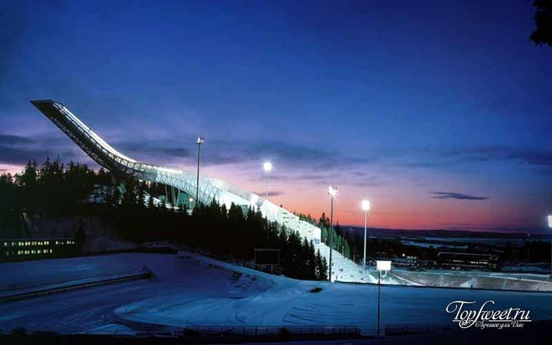 Лыжный музей Холменколлен. Достопримечательности Осло