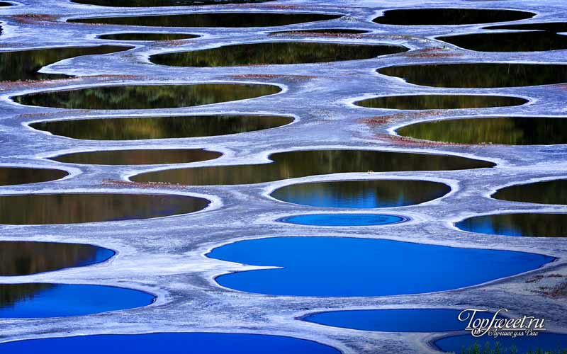 Клилук - пятнистое озеро