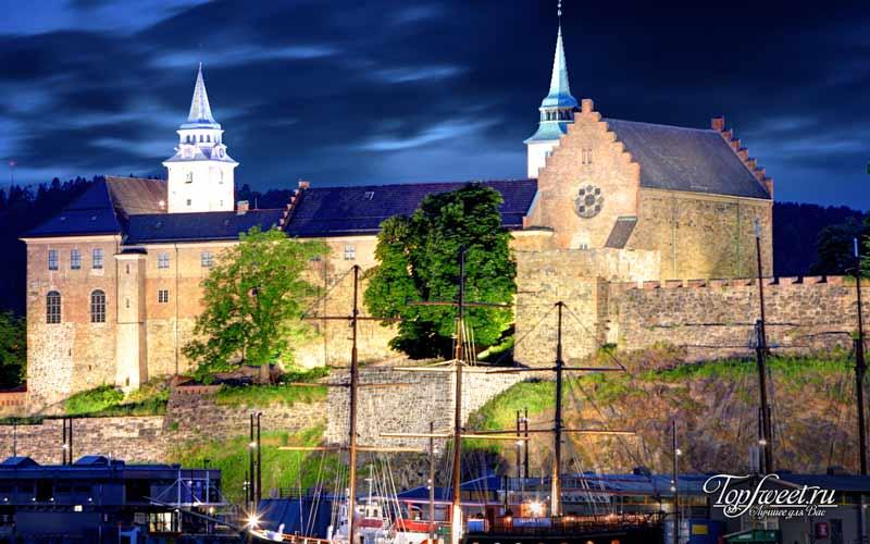 Крепость Акерсхус. Достопримечательности Осло