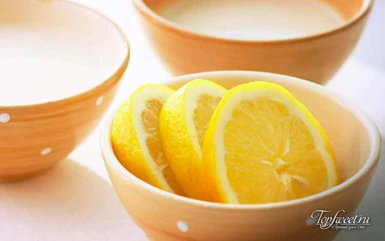 Лимон отбеливатель белья
