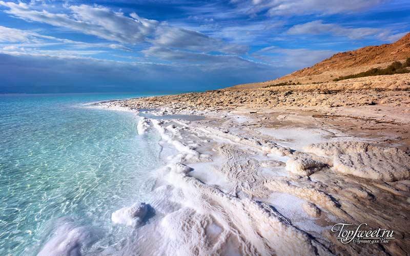 Мертвое море. Места экстремального туризма
