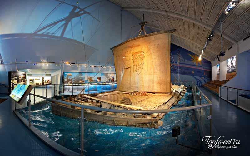 Музей Кон-Тики. Достопримечательности Осло