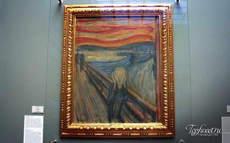 Национальная галерея. Достопримечательности Осло