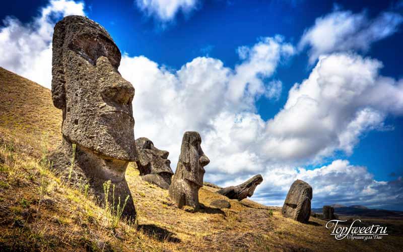 Остров Пасхи. Культовые места для фотосъемки. ТОП-10