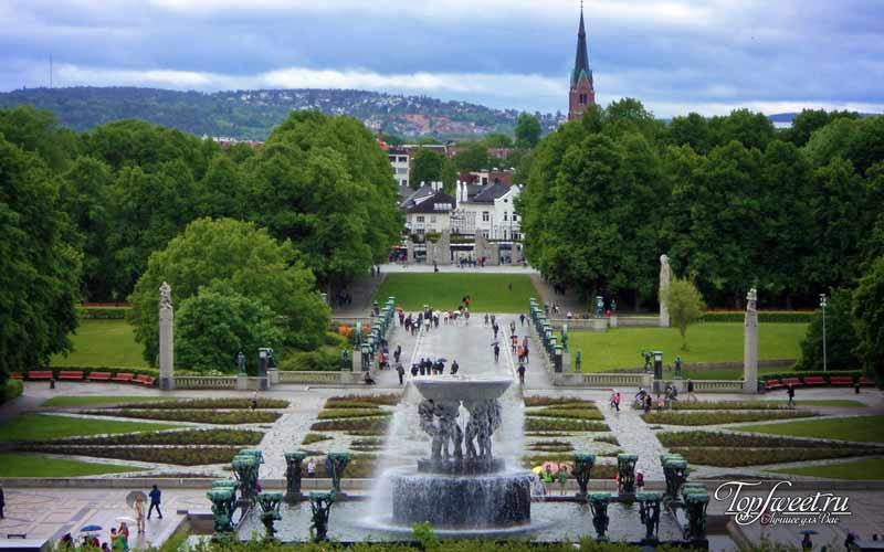 Парк Вигеланд. Достопримечательности Осло