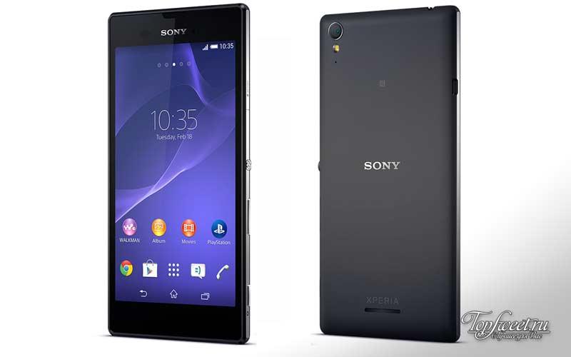 Sony Xperia T3. ТОП-10 лучший бюджетный телефон 2016