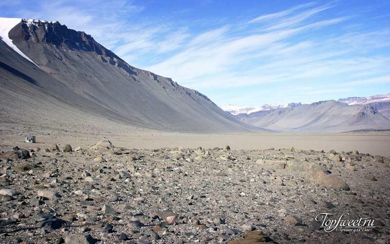 Сухие долины Мак-Мердо. Самые необычные места на Земле